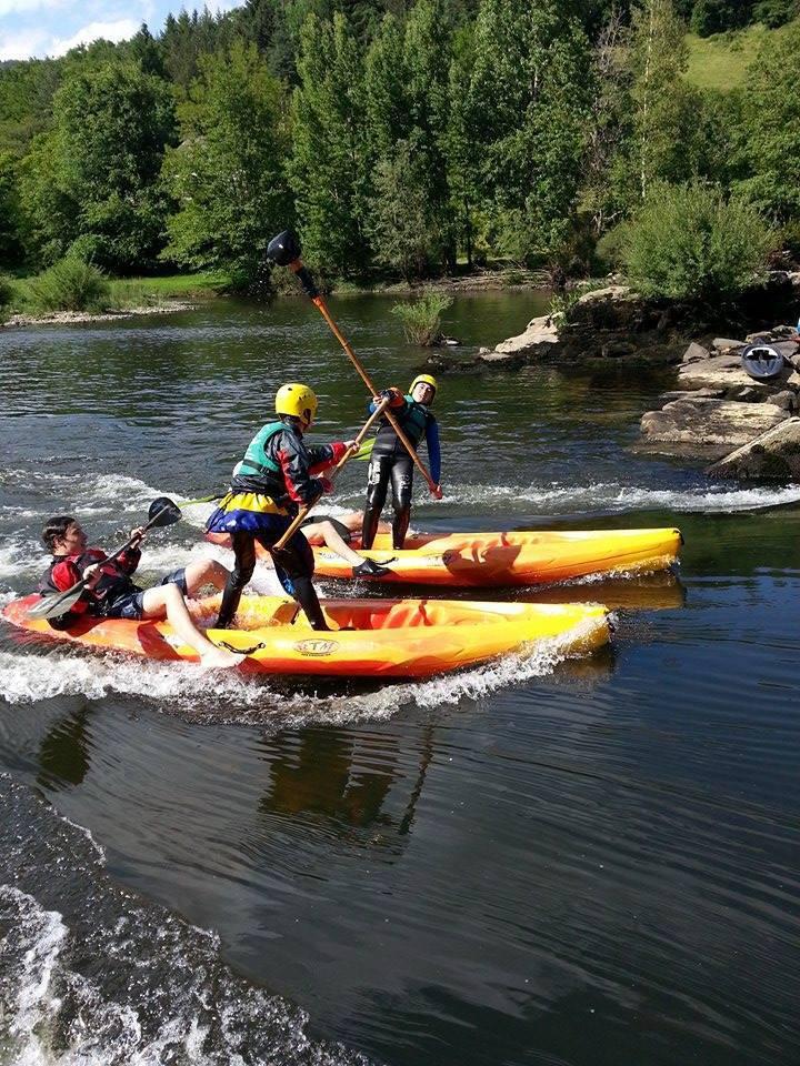 canoë kayak à Entraygues