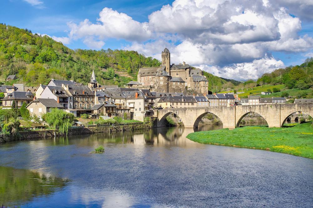 château d'Estaing en Aveyron