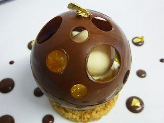 dôme chocolat